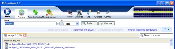 Software nacional para downloads