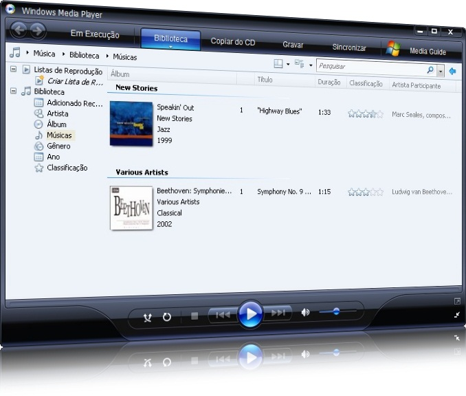baixar windows media player
