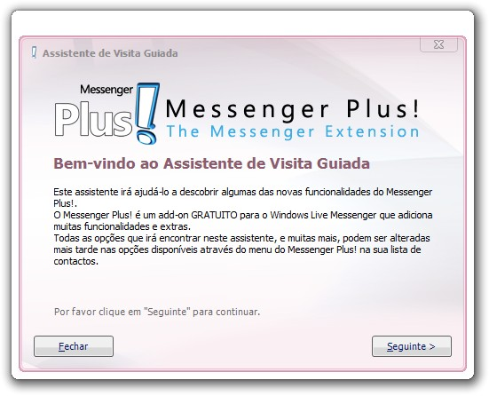 messenger plus para o msn 3.63.148