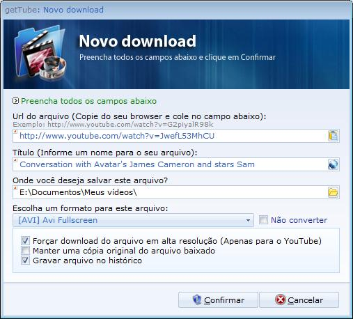 Novo download