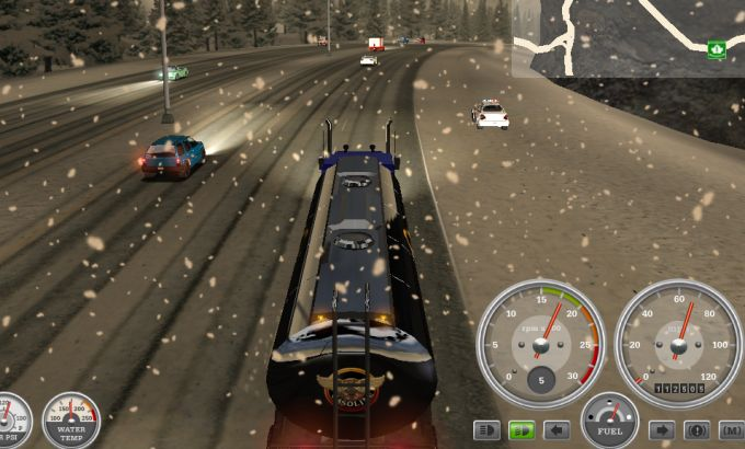 18 Wheels of Steel: Haulin - Imagem 1 do software