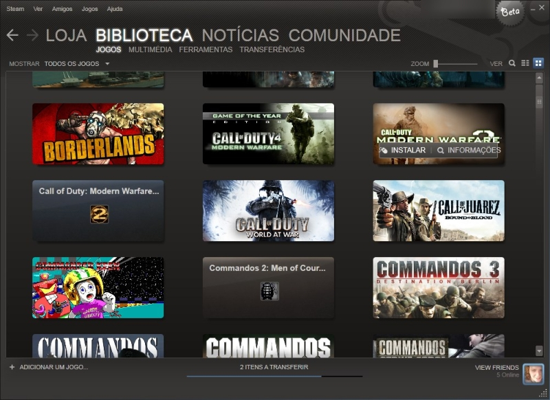 Imagem do Steam