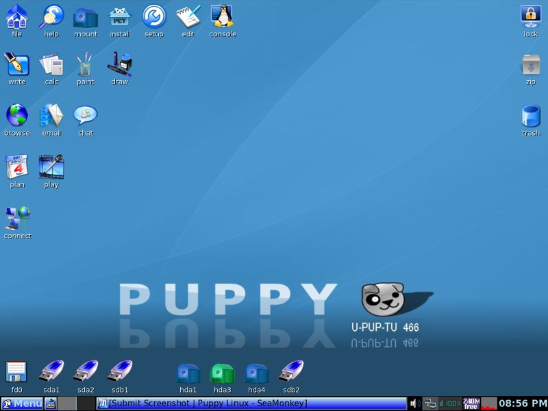 Puppy  Linux!