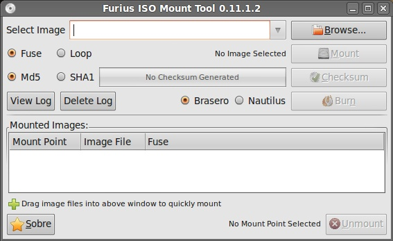 Furius ISO Mount - Imagem 1 do software