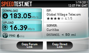 Speedtest.net - Imagem 3 do software