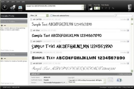 NexusFont - Imagem 1 do software