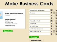 Imagem 1 do Make Businnes Cards