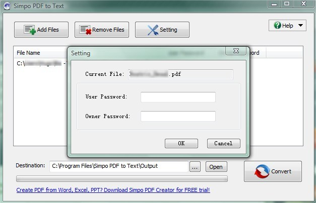Simpo PDF to Text Download