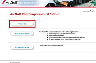 arcsoft photoimpression 6.5 gold keygen