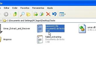 Unrar Extract and Recover Download to Windows Grátis
