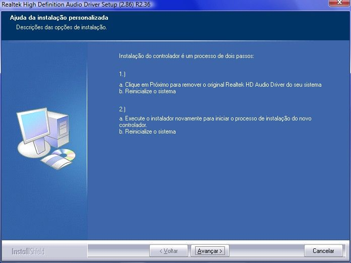 dispositivo de som realtek high definition