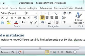 chave do word 2010