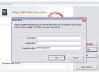 Imagem 2 do Magic 3GP Video Converter