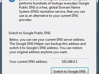 Imagem 1 do Google DNS Helper