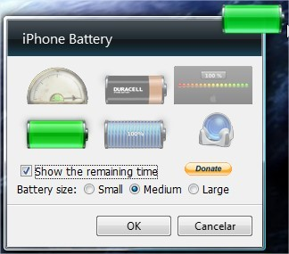 iPhone Battery Gadget