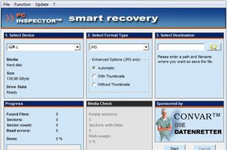 PC Inspector Smart Recovery Download para Windows Grátis