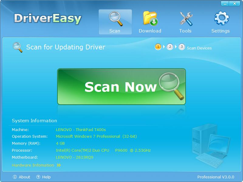 DriverEasy - Imagem 1 do software