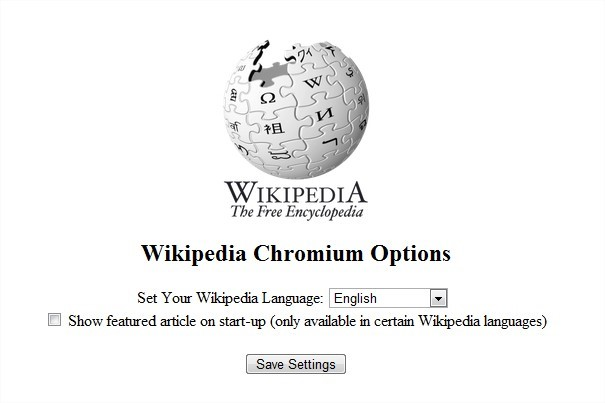 Wikipedia Chromium Edition