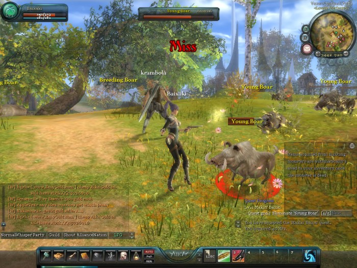 Game Client - AIKA Online
