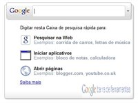 Imagem 1 do Google Toolbar