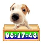 Imagem 2 do Cute Puppy Clock