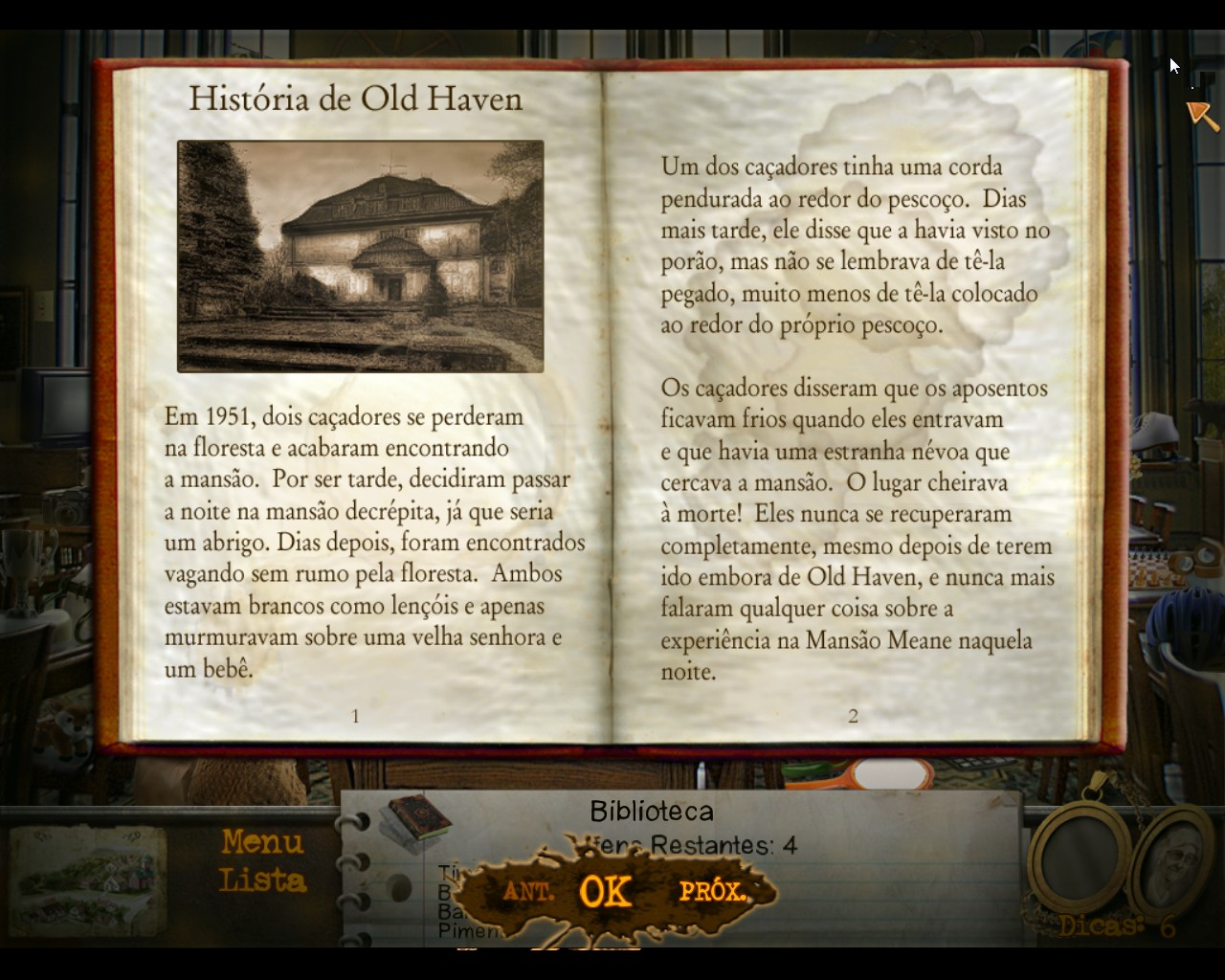 mystery manor Description mystery manor is a game that draws a lot from the object  gets you  togrips with the way the game works and how to play quickly.