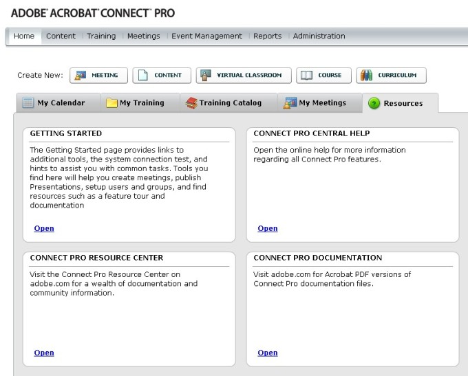 Adobe Connect Store