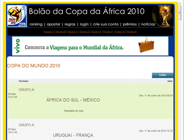 Bom palpiteiro? Arrisque no Orkut!