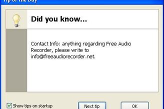 Free Audio Recorder Download para Windows Grátis