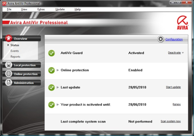 Avira AntiVir Premium 2011 V 10.0.680 Final + Bussiness Key 2013.