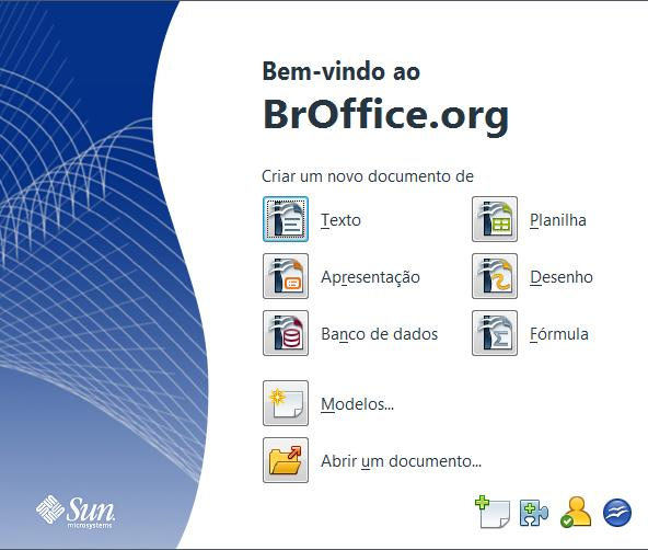 o broffice writer baixaki