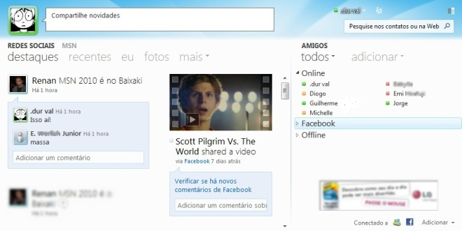Novo Windows Live Beta** 111237