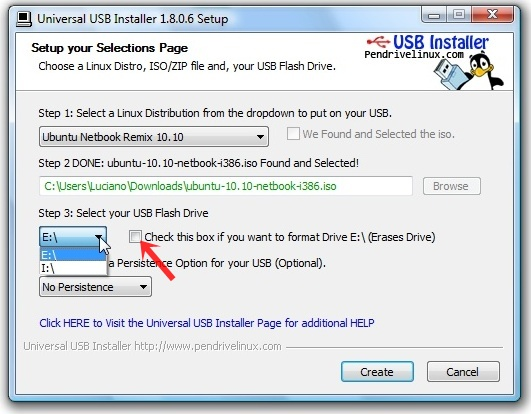 Universal USB Installer Download para Windows Grátis