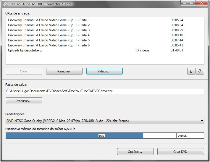112275 Download Free YouTube to DVD Converter