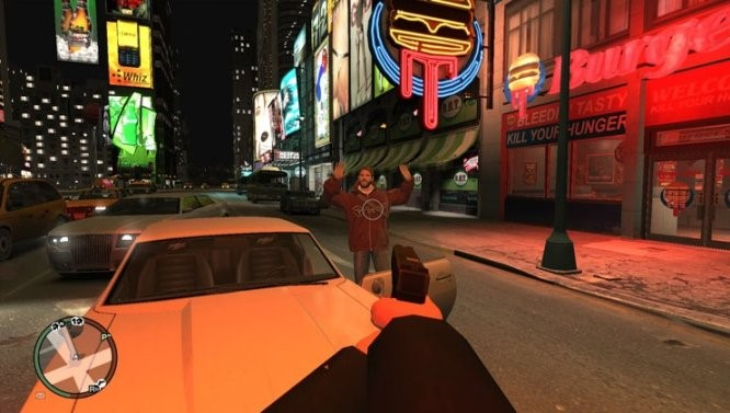 GTA IV: First Person Mod.