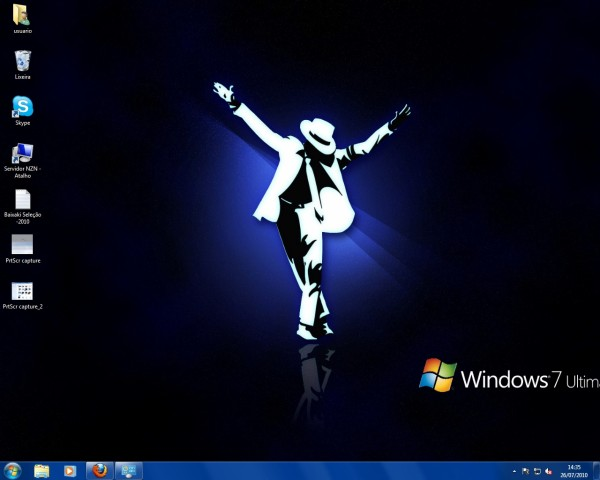 115277 - Michael Jackson Theme for Windows 7