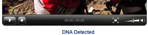 Player de video com DNA detectado.