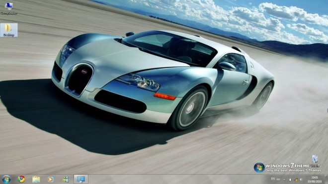 Bugatti Veyron Windows 7 Theme