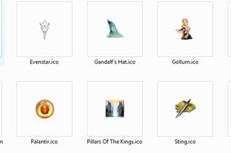 Lord of the Rings Icon Pack Download to Windows Grátis
