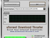 Imagem 1 do uTorrent Download Thruster