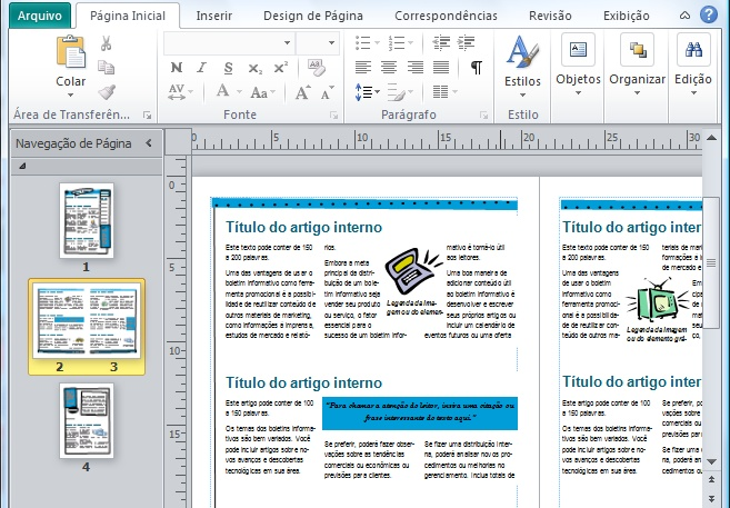 Microsoft Publisher - Imagem 1 do software