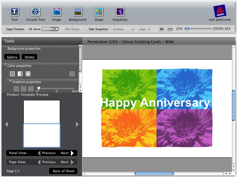 Mac software download avery labels