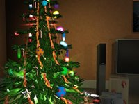 Imagem 1 do Free 3D Christmas Screensaver
