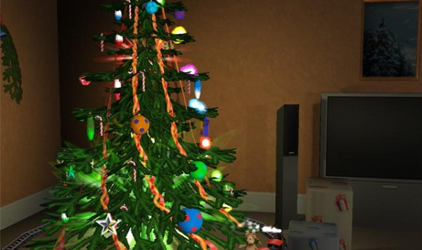 Free 3D Christmas Screensaver - Imagem 1 do software