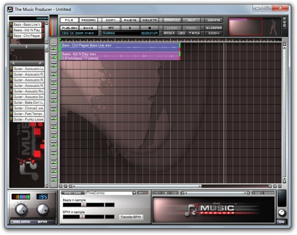 The Music Producer - Imagem 1 do software