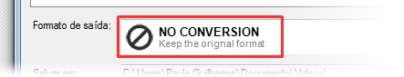 No Conversion