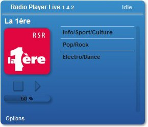 Radio Player Live - Imagem 1 do software