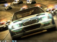 Imagem 2 do NFS Most Wanted Win7 Theme