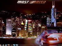 Imagem 4 do NFS Most Wanted Win7 Theme
