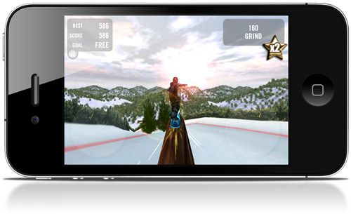 Crazy Snowboard - Imagem 2 do software